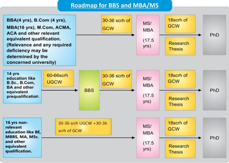 business education roadmap