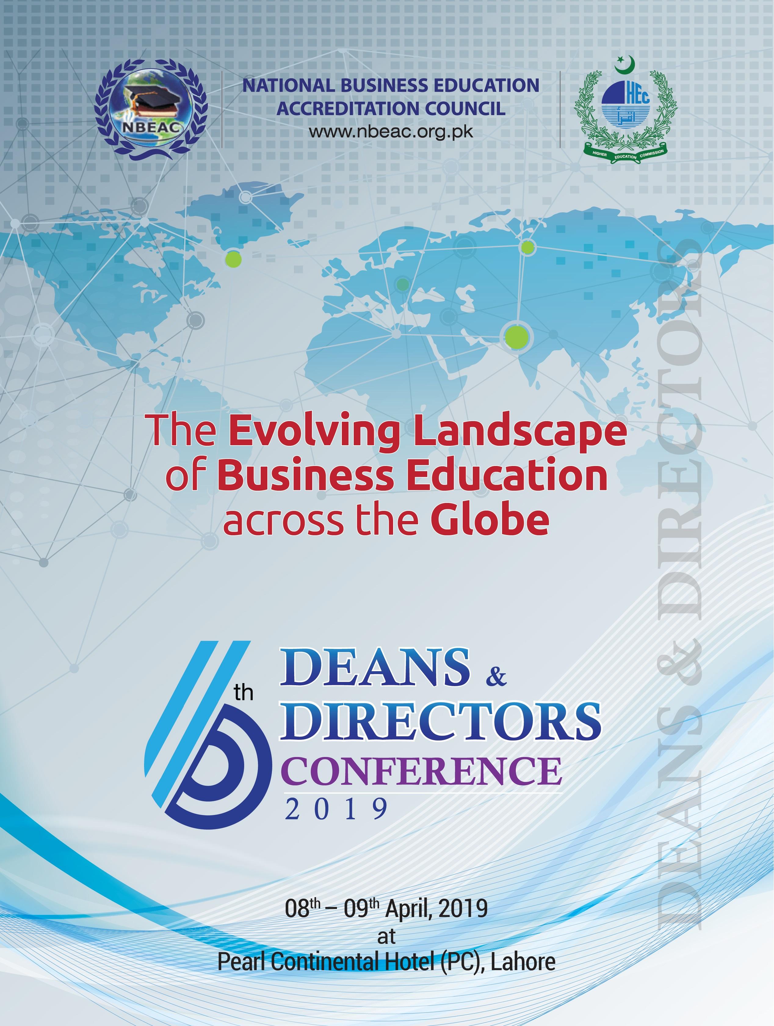 6th Deans & Directors Conference 2019   NBEAC
